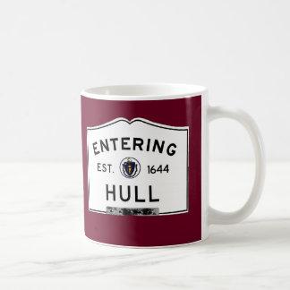 Entering Hull Coffee Mug