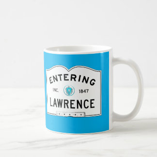 Entering Lawrence Coffee Mug