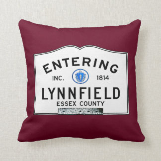 Entering Lynnfield Throw Pillow