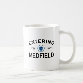 Entering Medfield Mug