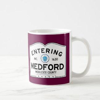 Entering Medford Coffee Mug