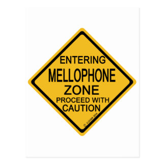 Entering Mellophone Zone Postcard