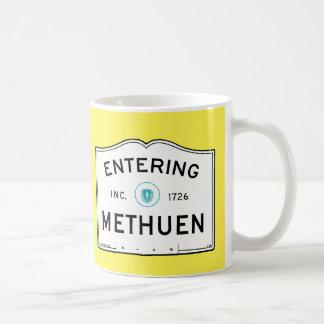 Entering Methuen Coffee Mug