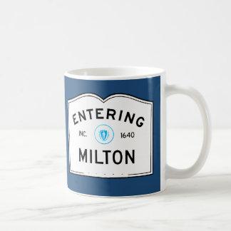 Entering Milton Coffee Mug