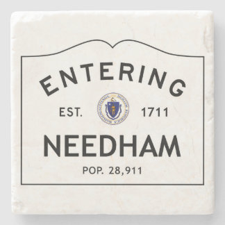 Entering Needham Marble Coaster Stone Coaster