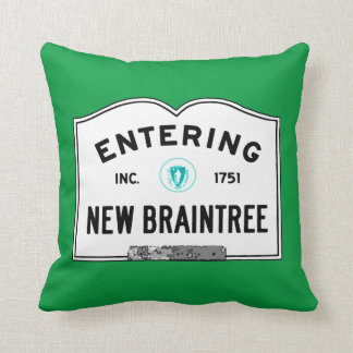 Entering New Braintree Pillows