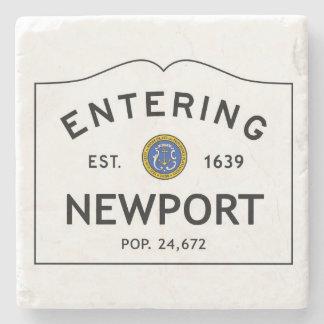 Entering Newport Marble Coaster Stone Coaster