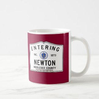 Entering Newton Coffee Mug