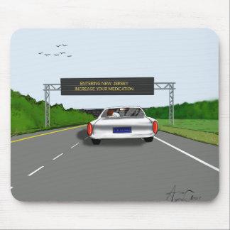 Entering NJ. Increase Meds Mouse Pads