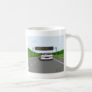 Entering NJ. Increase Meds Coffee Mugs