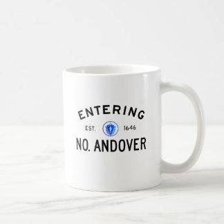 Entering North Andover Coffee Mug