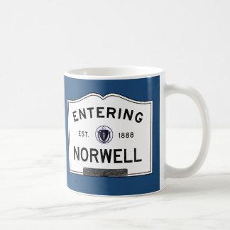 Entering Norwell Coffee Mug