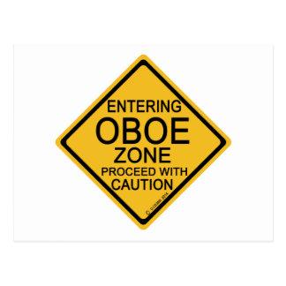 Entering Oboe Zone Postcard