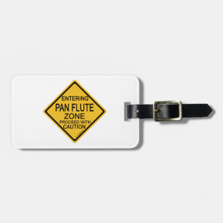 Entering Pan Flute Zone Tag For Bags