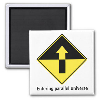Entering parallel universe 2 inch square magnet