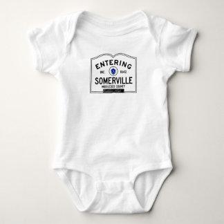Entering Somerville Baby Bodysuit