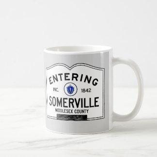 Entering Somerville Coffee Mug