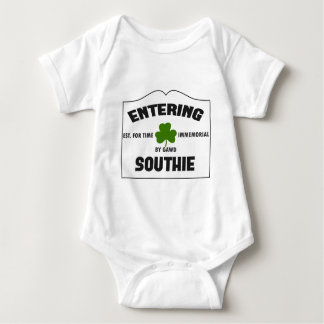 Entering Southie Baby Bodysuit
