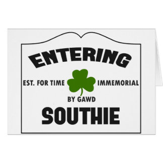 Entering Southie Card