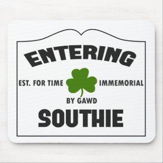 Entering Southie Mouse Pad