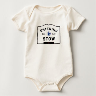 Entering Stow Baby Bodysuits