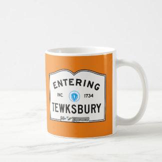 Entering Tewksbury Coffee Mug