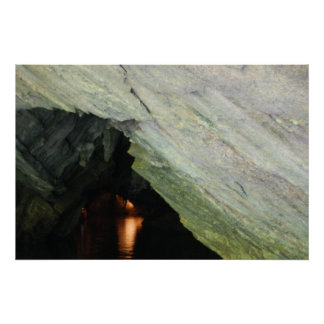 Entering The Cave - poster / print