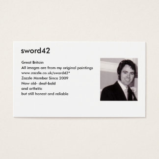 ENTERING THE DOCKS BUSINESS CARD