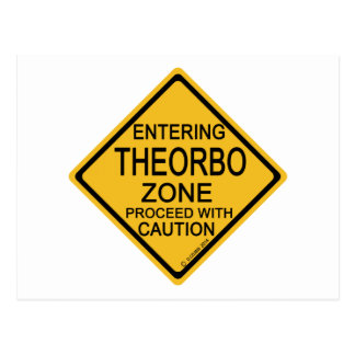 Entering Theorbo Zone Postcard