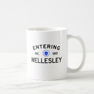 Entering Wellesley Coffee Mug