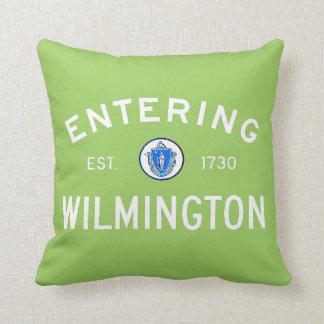 Entering Wilmington Throw Pillow