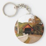Entering Woodstock Keychain