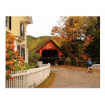 Entering Woodstock Postcard