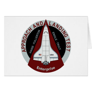 Enterprise: Approach and Landing Tests Card