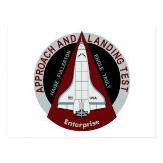 Enterprise: Approach and Landing Tests Postcard