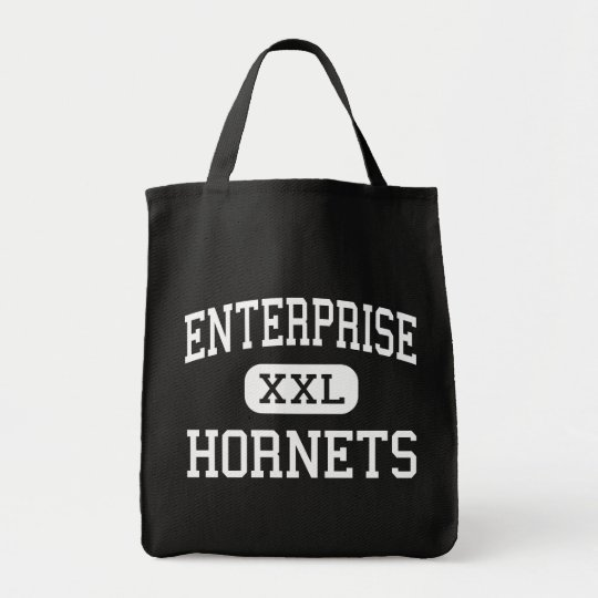 Enterprise - Hornets - High - Redding California Tote Bag