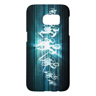 Enterprise Mobility and a Technology Concept Samsung Galaxy S7 Case