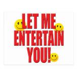 Entertain You Life Postcard