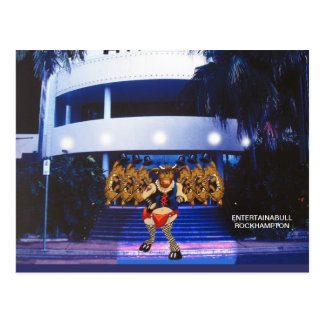 Entertainabull Postcard