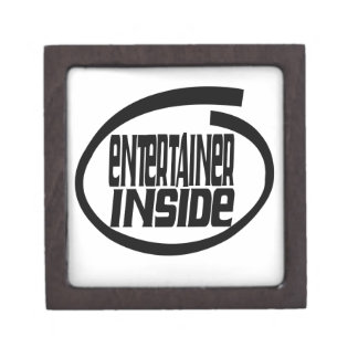 entertainer Inside Premium Trinket Boxes