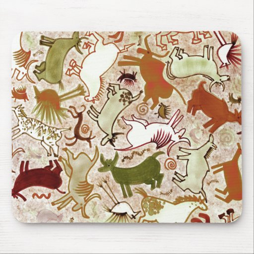Entertaining Cave Wall Mousepads