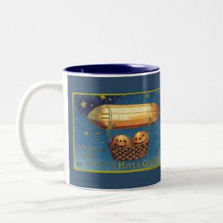 Entertaining Halloween Two-Tone Coffee Mug
