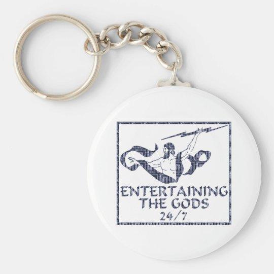Entertaining the Gods Keychain