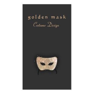Entertainment Business Card -  Golden Mask
