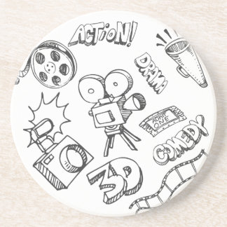 Entertainment Doodles Coaster