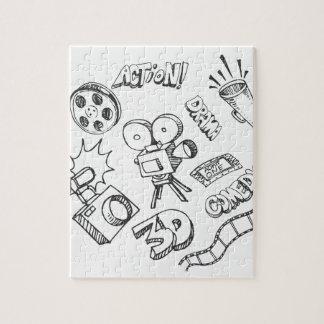 Entertainment Doodles Jigsaw Puzzle
