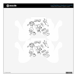 Entertainment Doodles Skin For PS3 Controller