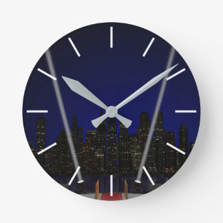 Entertainment Event Wall Clock