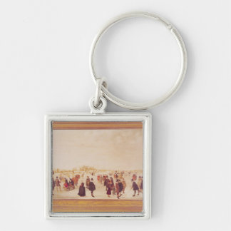 Entertainment on the Ice Keychain