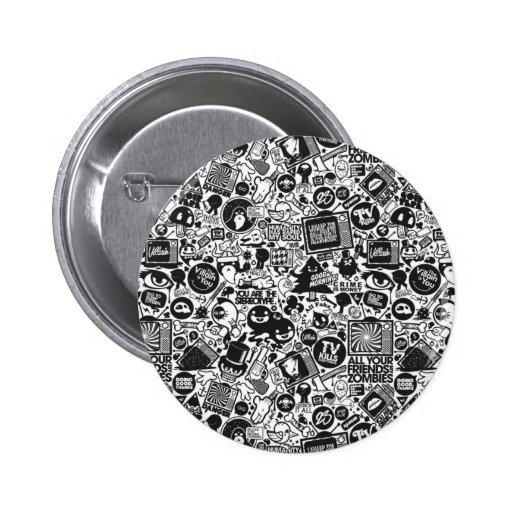 Entertainment Pin Redondo 5 Cm